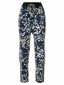 3.1 Phillip Lim printed drawstring trousers - Black