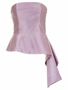 Tufi Duek bandeau blouse - Pink