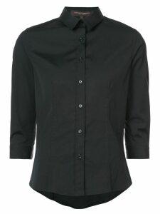 Carolina Herrera three-quarter sleeve classic shirt - Black