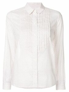 Vanessa Seward pleated long-sleeve shirt - White