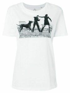 A.F.Vandevorst Dog T-shirt - White
