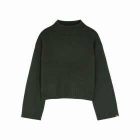 BELLA FREUD 1970 Black Wool Jumper