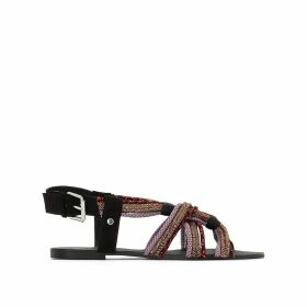 Sparkly Strappy Sandals