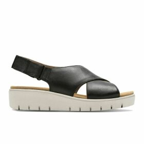 Un Karely Hail Leather Sandals
