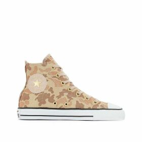 Chuck Taylor All Star High Top Lurex Camo Trainers