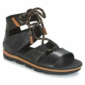 Sorel  TORPEDA™ LACE II  women's Sandals in Black
