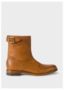 Women's Tan Leather 'Thunder' Boots