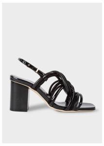 Women's Black Suede 'Carla' Sandals