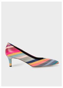 Women's 'Swirl' Leather 'Blanca' Heels
