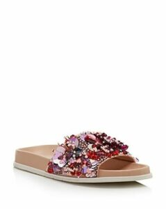 Kenneth Cole Women's Xenia Sequin-Embellished Pool Slide Sandals