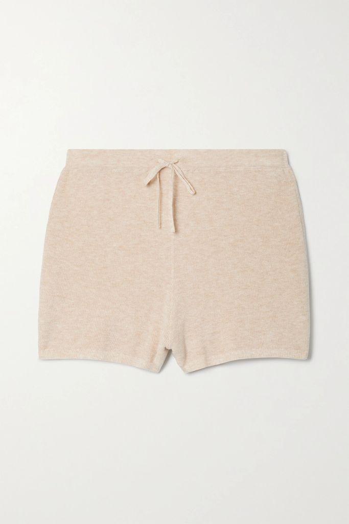 Moncler - Twist Hooded Grosgrain-trimmed Shell Jacket - White