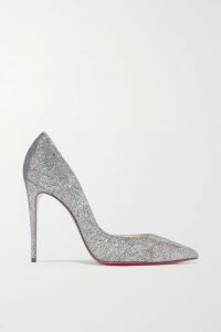 Chloé - Embellished Embroidered Linen, Tweed And Canvas Blouse - Ivory