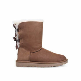 Ugg Bailey Bow - Brown Flat Calf Boots