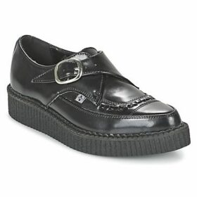 TUK  POINTED CREEPERS  women's Casual Shoes in Black