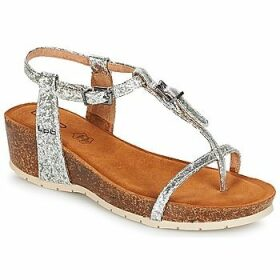 LPB Shoes  KISS  women's Sandals in Silver