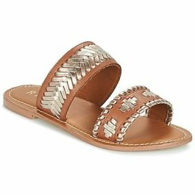 Ravel  DELANO  women's Mules / Casual Shoes in Brown