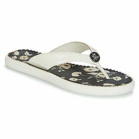Lauren Ralph Lauren  RAIA  women's Flip flops / Sandals (Shoes) in White