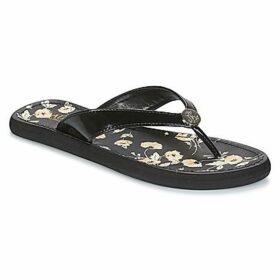 Lauren Ralph Lauren  RAIA  women's Flip flops / Sandals (Shoes) in Black