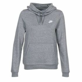 Nike  FUNNEL FLEECE  women's Sweatshirt in Grey