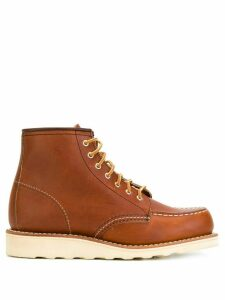 Red Wing Shoes lace-up loafer boots - Brown