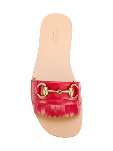Gucci open toe sandals - Red