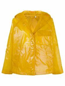 Aspesi hooded zipped jacket - Yellow