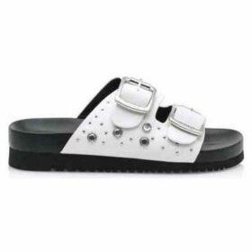 MTNG  SANDALIAS   MUJER 50018-C38611 PISCES WHITE  women's Sandals in White