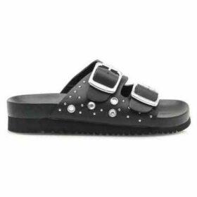 MTNG  SANDALIAS   MUJER 50018-C38610 PISCES BLACK  women's Sandals in Black