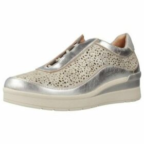 Stonefly  CREAM 2 BIS  women's Shoes (Trainers) in Silver
