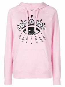 Kenzo eye motif hoody - PINK