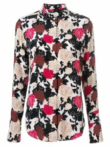 Equipment Daphne floral printed shirt - Multicolour
