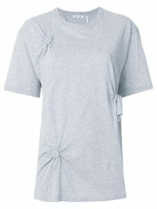 Helmut Lang twist knot T-shirt - Grey