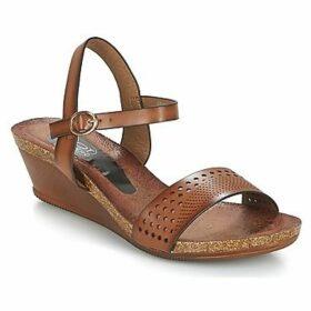 Spot on  IKARDELOK  women's Sandals in Brown