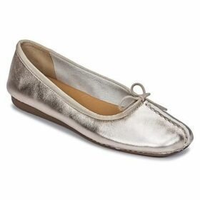 Clarks  FRECKLE ICE  women's Shoes (Pumps / Ballerinas) in Gold