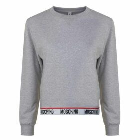 Moschino Underwear Logo Band Sweatshirt