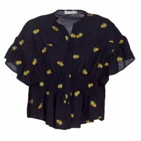 See U Soon  8113020  women's Blouse in Black