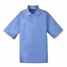 Marni Silk Polo Shirt Dress