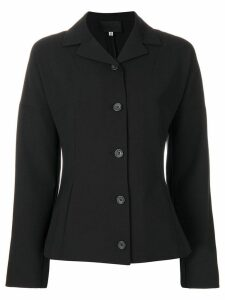 Dolce & Gabbana Pre-Owned fitted buttoned blazer - Black