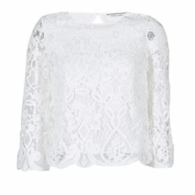 Naf Naf  HALDRINE  women's Blouse in White