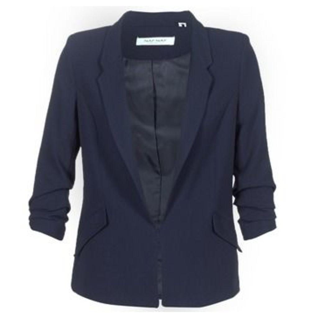Naf Naf  FLUIDA  women's Jacket in Blue