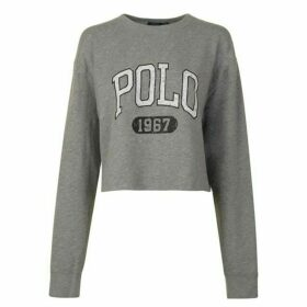 Polo Ralph Lauren Logo Polo Sweatshirt