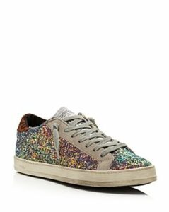 P448 Women's John Glitter Low-Top Sneakers