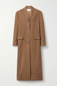 Prada - Cotton-poplin And Metallic Brocade Mini Dress - Pink