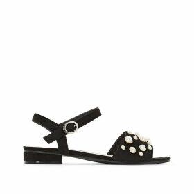 Wide Fit Embellished Sandals, Sizes 38-45