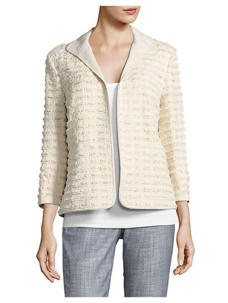 Ramira Fringe Knit Jacket