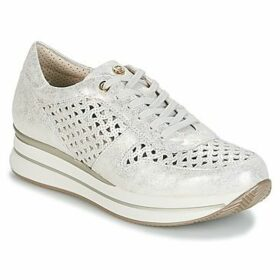 Pitillos  MANIMO  women's Shoes (Trainers) in Silver