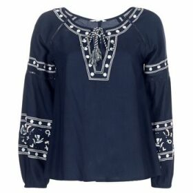 Deeluxe  BERTHA  women's Blouse in Blue
