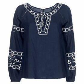 Deeluxe  BERTHA  women's Blouse in Blue