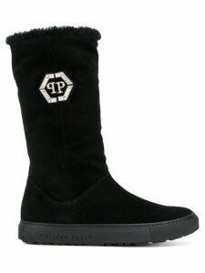 Philipp Plein tall boots - Black