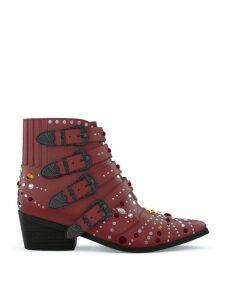 Toga Pulla AJ006 Elvis boots - Red